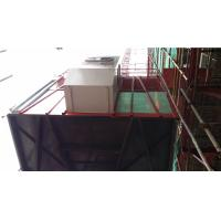 Buy cheap VFD SC200D construction building hoist , passenger and material lifting hoist with rack and mast product