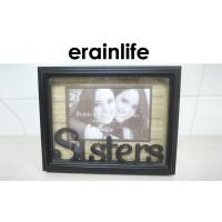 China Home Decorative SISTERS Picture Photo Frames With Polyresin Material on sale