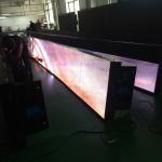 Waterproof IP65 Stadium Perimeter Led Display High Brightness For Football Game