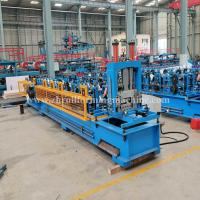 Buy cheap Machinery Metal Hydraulic C Purlin Roll Forming Machine Steel Roof Truss Making product
