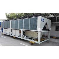 Buy cheap 400 Tons Dual - Screw Air Cool Chiller Semi Hermelic Chiller Air Cooled product