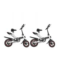 Buy cheap 12 Inch Leisure Portable Foldable Electric Bicycle Aluminum Alloy Frame product