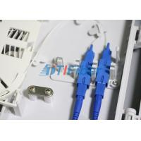 FTTH Mini Outdoor Fiber Optic Distribution Box 1x4 PLC