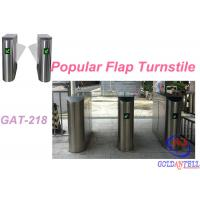 Buy cheap Popular 2D Qr Code Flap Barrier Gate With Software Sdk / Entrance Turnstile Security Gates product