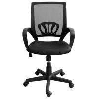 Buy cheap 9KG Swivel Office Chairs With Wheels, High Back Computer ChairWith Lumbar Support product