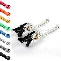 Adjustable Mix Color Motorcycle Long Levers , Folding Brake Lever With High Class Finish