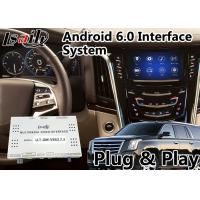 Buy cheap Android 6.0 Car GPS Navigation Auto Interface for Cadillac Escalade with CUE System 2014-2018 LVDS Digital Display product