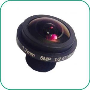 Buy cheap F2.1 1.7Mm 185° Wide Angle Starlight Camera Lens 1/2.5'' Sensor High HD 5MP product