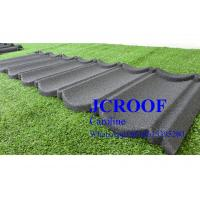 Buy cheap Economically Stone Coated Steel Roof  Tile 0.4mm thickness , Stone Coated Steel Shingles product