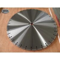 Buy cheap 20 , 30 , 42 Inch Laser Saw Cutting Blades For Reinforce Concrete With Protect Teeth from wholesalers