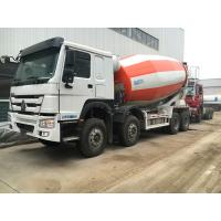 Buy cheap 8×4 12m3 - 16m3 Concrete Mixer Truck Sinotruk Howo With External Force Resistance product