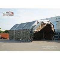 China Aluminum Frame Temporary Aircraft Hangar Tent Structure With PVC Roof For Military on sale