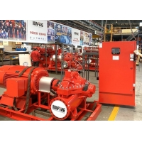 Buy cheap UL Listed 500GPM @ 150PSI Electric Motor Driven With Horizontal Split case Fire Pump Sets with FM Approval product