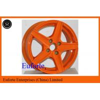 Buy cheap Orange Aluminum Alloy Custom Retro Style Wheels For Toyota Honda from wholesalers