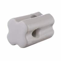 Buy cheap Electric fencing Porcelain Insulator Blunt end/Bullnose Porcelain Insulator from wholesalers