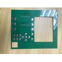 Buy cheap Metal dome LED backlight PCB circuit female connector Membrane Keypads product