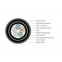 Buy cheap Durable Rodent Resistant Fiber Optic Cable, Nylon Jacket Armoured Fibre Cable product