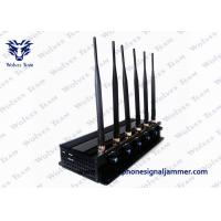 Buy cheap 8 Bands Remote Control Jammer High Power GPS LoJack 3G Cell Phone Blocker product