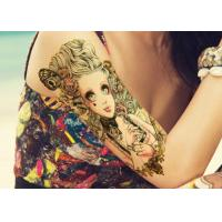 Buy cheap Water Transfer Temporary Body Tattoo Stickers , Temporary Tattoo Sheets from wholesalers