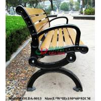 Buy cheap Prefabricated Composite Park Bench , WPC Synthetic Wood Bench Fading Resistance product
