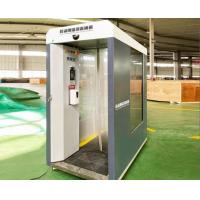 Buy cheap Mobile disinfecting machine with four wheels/ Intelligent face recognition and Thermometry hot sales to Australia product