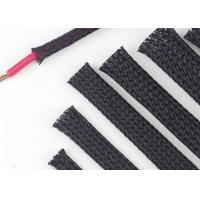 Buy cheap Custom Size Expandable Braided Cable Sleeving Excellent Flexibility Wear Resistant product