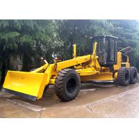 China Self Propelled Articulated Motor Grader 215 Hp With Front Blade / Rear Scarifier on sale