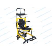 Buy cheap Foldaway Stair Stretcher , Aluminum Alloy Wheeled Emergency Stretcher product