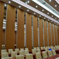 Buy cheap Aluminum Sound Proof Acoustic Floor to Ceiling Movable Partition Walls product