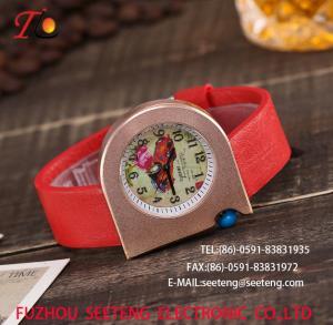 Buy cheap wholesale Pu watch alloy case quartz watch Personality watches fashion watch pu from wholesalers
