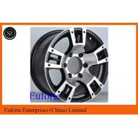 Buy cheap Aluminum Alloy  8x16 4x4 Off Road Wheels 5 Spokes / SUV Rims from wholesalers