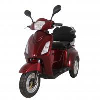 China CE Certificated Aluminium Alloy Tire Three wheels Electric Tricycle for Elder with Differential Motor on sale