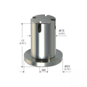 Buy cheap Three Branch Outlet Ceiling Connector Hardware M6 Female Thread YW86270 product