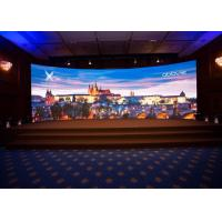 Buy cheap Pixel Pitch 3.91mm Audio Visual Screens , Indoor Curved LED Display AC110-220V from wholesalers