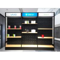 Buy cheap Metal Frame Cell Phone Store Fixtures Displays / Hanging Cell Phone Wall Display product