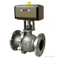 China pneumatic actuator ball valve on sale