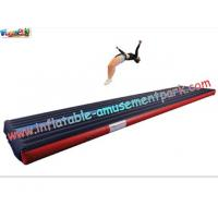 Buy cheap Popular Air Tumbling Inflatable Track, Inflatable Sports Games Track With Different Size product