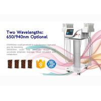 Buy cheap Ce Approved 4d Lipo Laser Slimming Machine With 6/8/10/12/14/16 Pads product