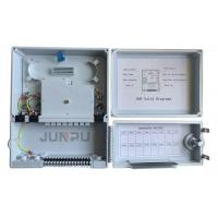 Buy cheap 16 Outputs Outdoor Fiber Optic Termination Box , Distribution Box Popular in from wholesalers