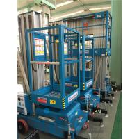 Buy cheap 630 * 650mm Platform One Man Lift 6 Meter Platform Height For Aerial Work product