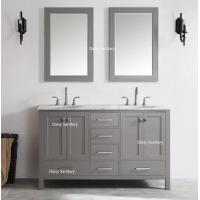 Buy cheap Quiet And Smooth Soft Closing American Bathroom Vanity With Multi Layer Painting product
