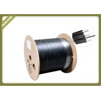 Buy cheap 2 Cores Outdoor FTTH Fiber Optic Cable Single Mode With FRP Strength Member LSZH Jacket product
