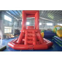 Buy cheap 0.9mm PVC Tarpaulin Inflatable Lifeguard Tower for Water Park from wholesalers