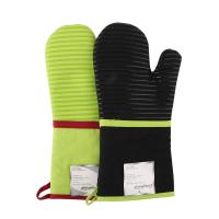 Buy cheap Heat Insulating Cotton Mittens Cooking Kitchen Oven Mitts Love Heart Printed Microwave Gloves product