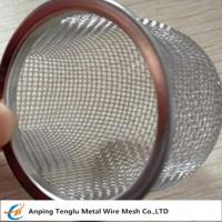 Buy cheap Stainless Steel Rimmed Bowl/Dome Shape Filter|Made by Aluminum and Stainless Steel product