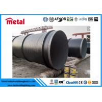 Buy cheap API 5L X52 3LPE Coated Steel Pipe DN600 SCH 40 Thickness LSAW For Liquid from wholesalers