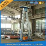 14m High Rise Window Cleaning Lift System , Aerial Wok Hydraulic Work Platform