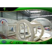 Buy cheap Durable PVC Inflatable Bubble Tent , Inflatable Crystal Bubble Air Supported Dome product