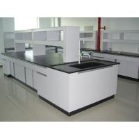 Quality Usable Wood Workbench Laboratory Furniture Floor Mounted All Wood Lab Bench for sale