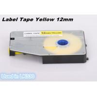 Buy cheap Wire Marking Label Maker Tape Laminated Industrial Customized , Yellow from wholesalers